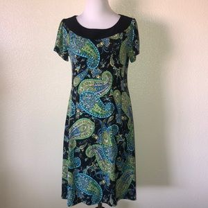 Cato paisley dress